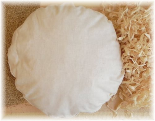 der gute nacht laden flexxima med zirben hirse kissen rund 40 cm. Black Bedroom Furniture Sets. Home Design Ideas
