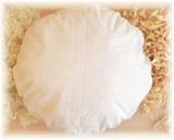 FLExxIMA-med Zirben-Schafwolle Kissen rund 40 cm